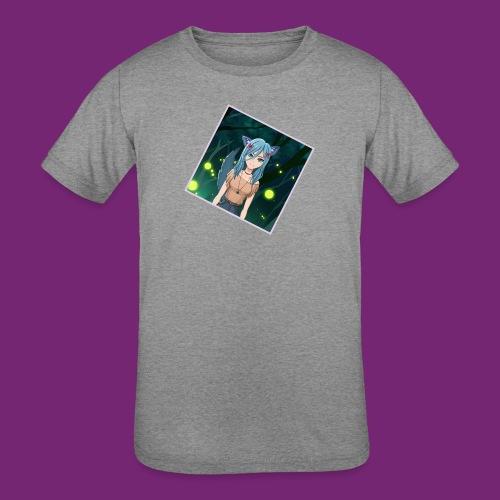 Wolfie Pack - Kids' Tri-Blend T-Shirt