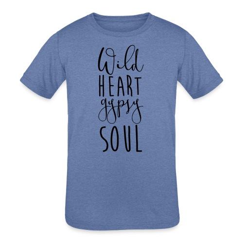 Cosmos 'Wild Heart Gypsy Sould' - Kids' Tri-Blend T-Shirt
