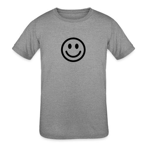 smile dude t-shirt kids 4-6 - Kids' Tri-Blend T-Shirt