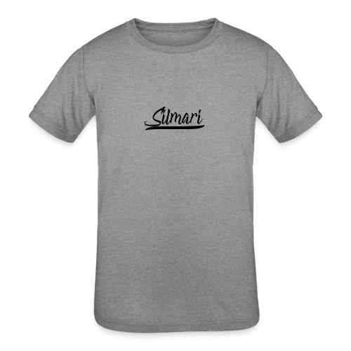 Silmari Signature Logo - Kids' Tri-Blend T-Shirt