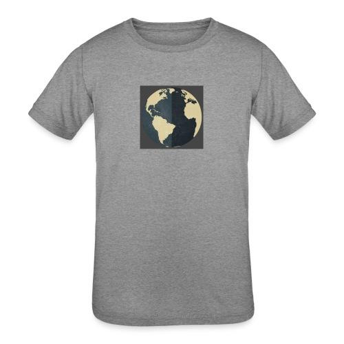 The world as one - Kids' Tri-Blend T-Shirt