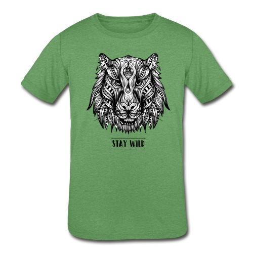 Stay Wild - Kids' Tri-Blend T-Shirt