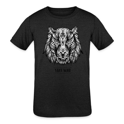Stay Wild - Kids' Tri-Blend T-Shirt