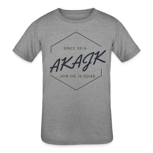 the geometric JK Squad - Kids' Tri-Blend T-Shirt
