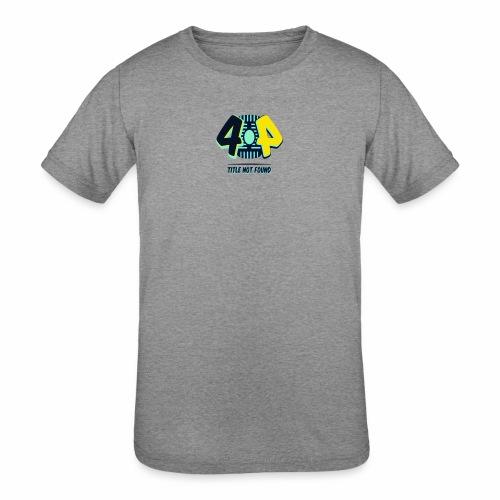 404 Logo - Kids' Tri-Blend T-Shirt
