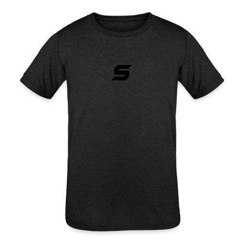 A s to rep my logo - Kids' Tri-Blend T-Shirt