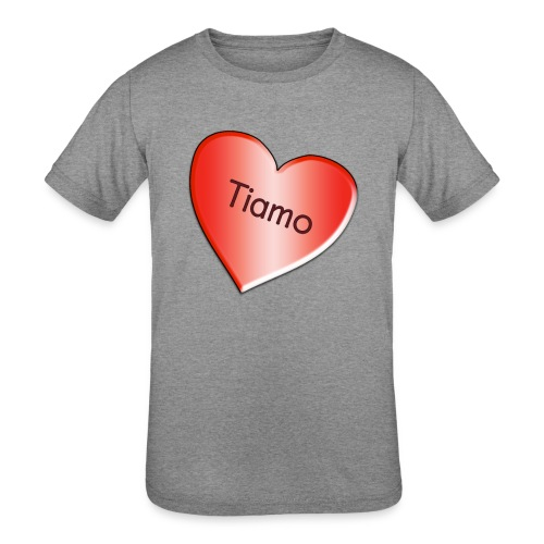 Tiamo I love you - Kids' Tri-Blend T-Shirt