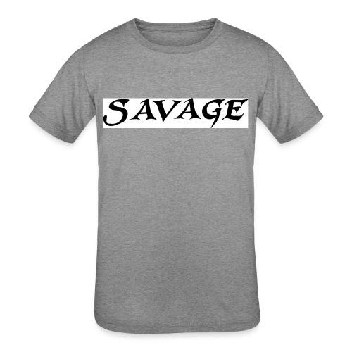 savage - Kid's Tri-Blend T-Shirt