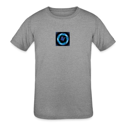 MY YOUTUBE LOGO 3 - Kids' Tri-Blend T-Shirt