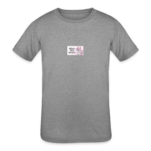 sylvee is a troll - Kids' Tri-Blend T-Shirt