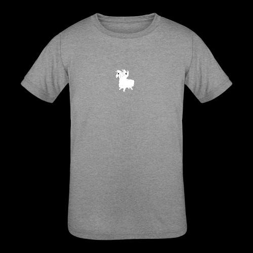 LOOT LLAMA THREE HEADS HYDRA - Kids' Tri-Blend T-Shirt