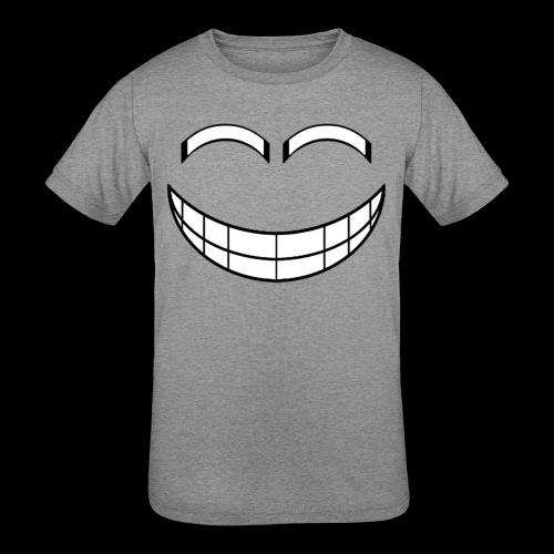 Empty Grin - Kids' Tri-Blend T-Shirt