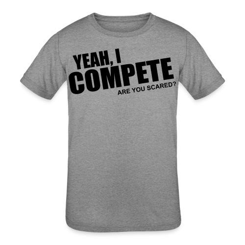 compete - Kids' Tri-Blend T-Shirt