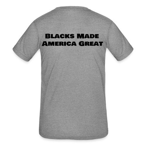 (blacks_made_america) - Kids' Tri-Blend T-Shirt