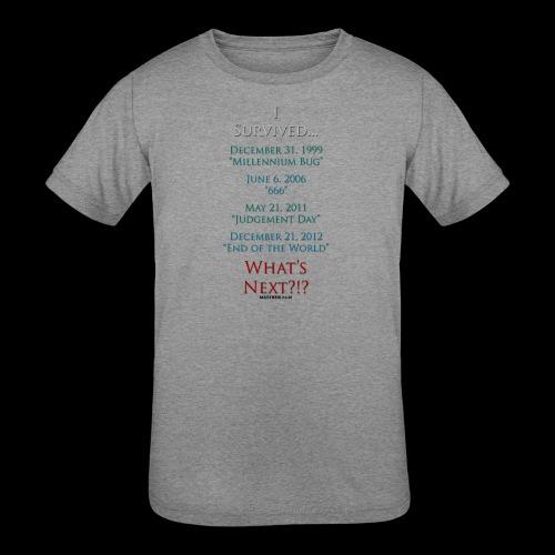 Survived... Whats Next? - Kids' Tri-Blend T-Shirt