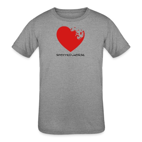 Appaloosa Heart - Kids' Tri-Blend T-Shirt