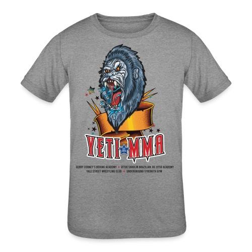 YETI MMA Never Quit 2020 Fundraiser - Kids' Tri-Blend T-Shirt