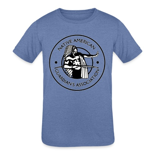 Naga LOGO Outlined - Kids' Tri-Blend T-Shirt