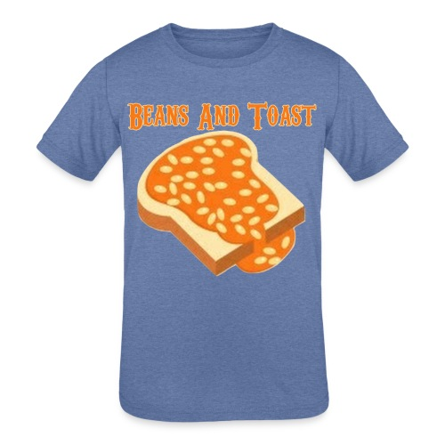 Beans And Toast - Kid's Tri-Blend T-Shirt