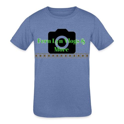 Fern Lyn Vlogs & More - Kids' Tri-Blend T-Shirt