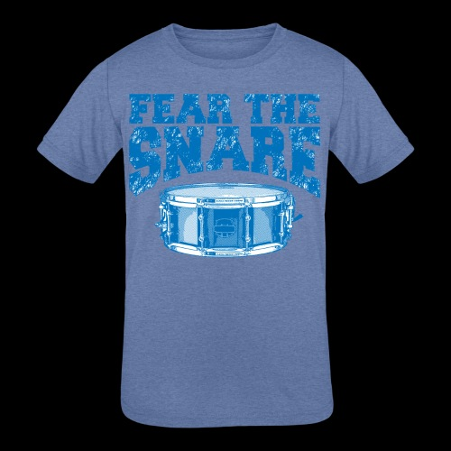 FEAR THE SNARE - Kids' Tri-Blend T-Shirt