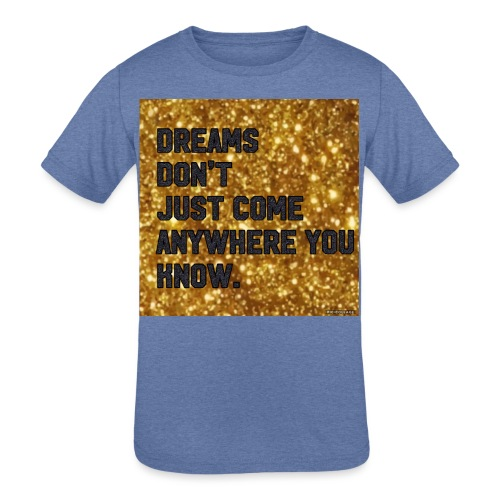 dreamy designs - Kids' Tri-Blend T-Shirt