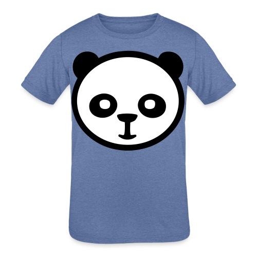 Panda bear, Big panda, Giant panda, Bamboo bear - Kids' Tri-Blend T-Shirt
