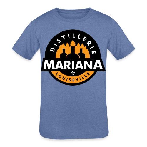 Distillerie Mariana T-Shirt fille - Kids' Tri-Blend T-Shirt