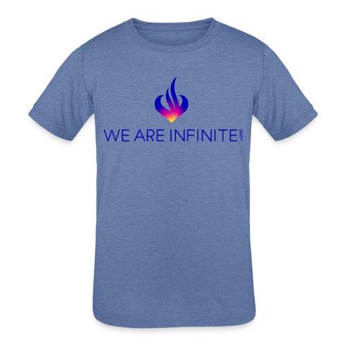 We Are Infinite - Kids' Tri-Blend T-Shirt