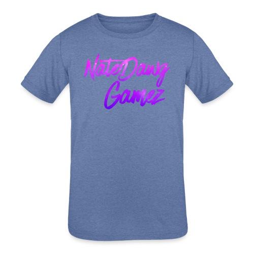 Galaxy Nate- - Kids' Tri-Blend T-Shirt
