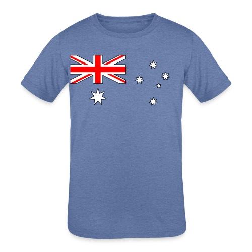 australia - Kids' Tri-Blend T-Shirt