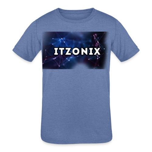 THE FIRST DESIGN - Kids' Tri-Blend T-Shirt