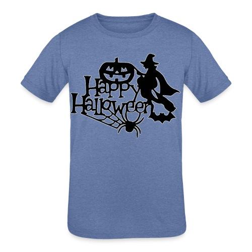 Happy Halloween - Kids' Tri-Blend T-Shirt