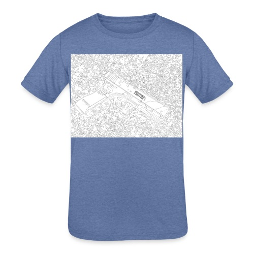 GunLines - Kids' Tri-Blend T-Shirt