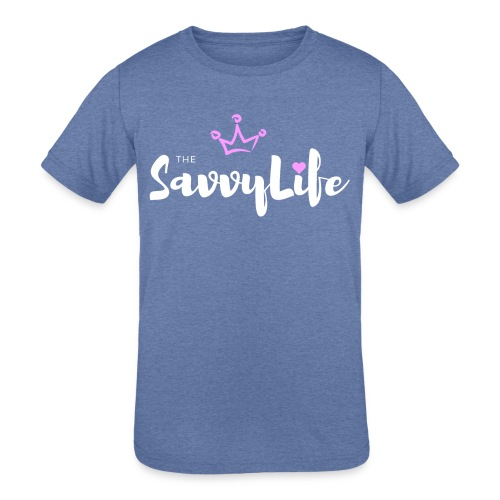 The Savvy Life - Kids' Tri-Blend T-Shirt