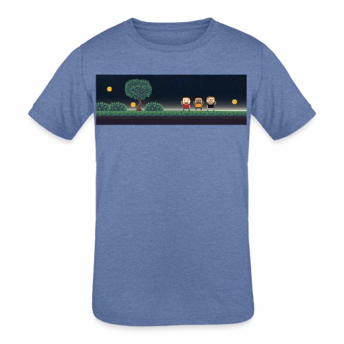 Twitter Header 01 - Kids' Tri-Blend T-Shirt