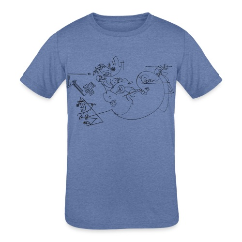 Today - Kids' Tri-Blend T-Shirt