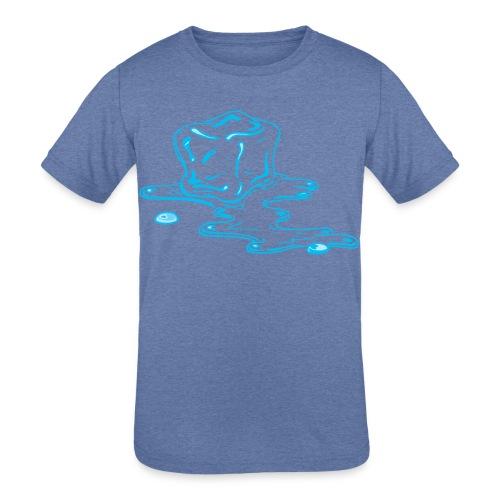 Ice melts - Kids' Tri-Blend T-Shirt