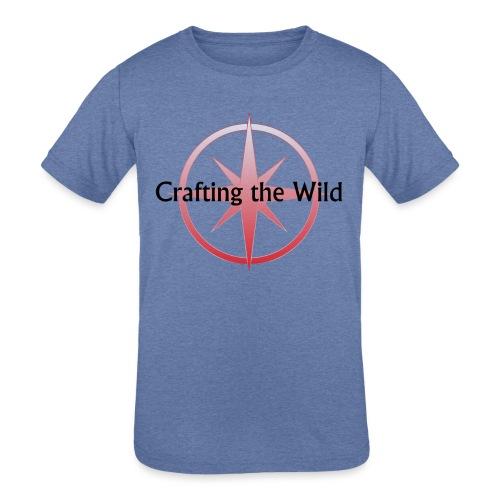 Crafting The Wild - Kids' Tri-Blend T-Shirt