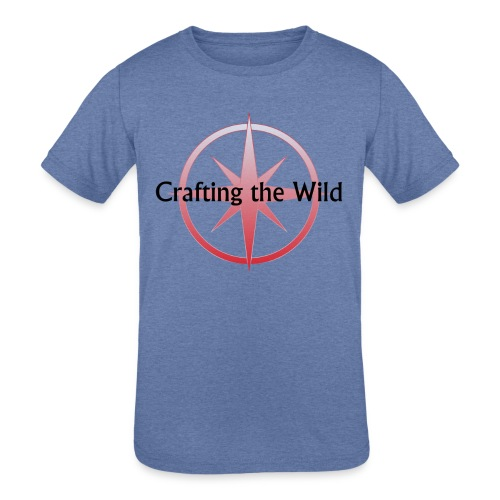 Crafting The Wild - Kids' Tri-Blend T-Shirt