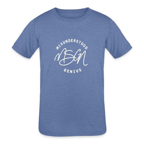 MSGN Logo - Kids' Tri-Blend T-Shirt