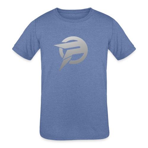 2dlogopath - Kids' Tri-Blend T-Shirt