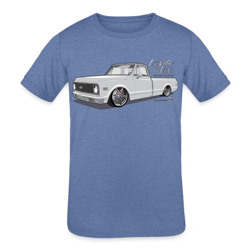 Long & Low C10 - Kids' Tri-Blend T-Shirt