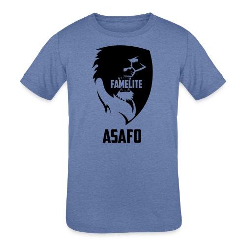 AsafoHouse - FamElite Asafo - Kids' Tri-Blend T-Shirt