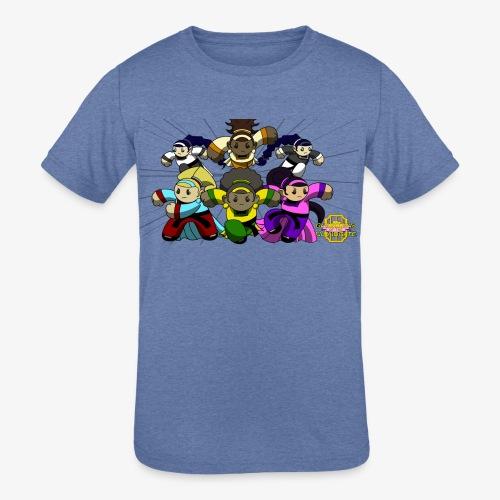 The Guardians of the Cloudgate w/ Logo - Kids' Tri-Blend T-Shirt