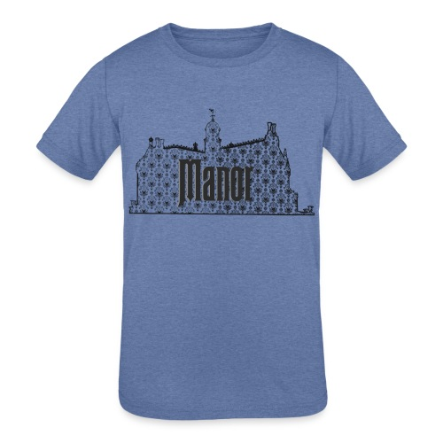 Mind Your Manors - Kids' Tri-Blend T-Shirt