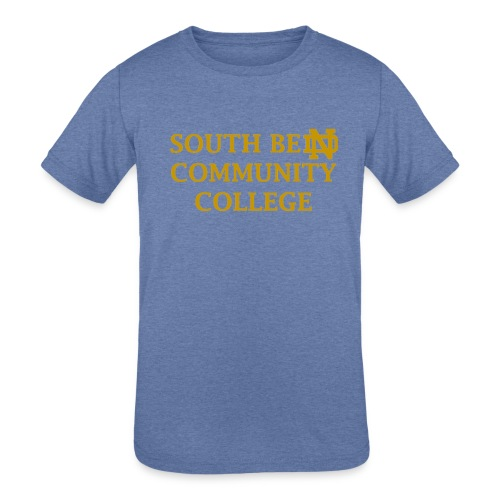 Notre Dame Community College - Kids' Tri-Blend T-Shirt