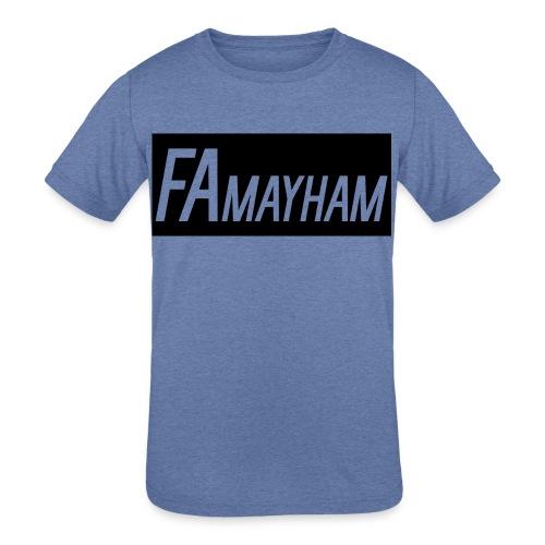 FAmayham - Kids' Tri-Blend T-Shirt
