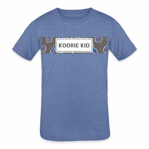 KOORIE KID - Kids' Tri-Blend T-Shirt