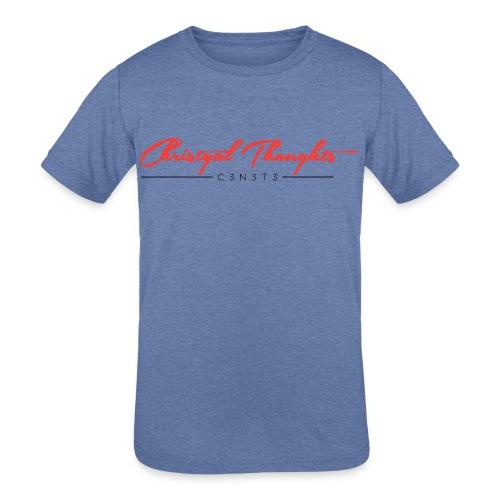 Christyal Thoughts C3N3T31 RB - Kids' Tri-Blend T-Shirt